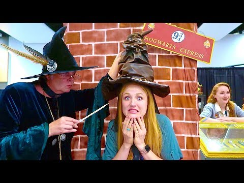 Getting Sorted Into Hogwarts Houses! The Beach House Booth CVX Live 2018