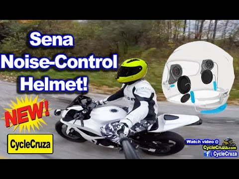 Sena Noise Control Helmet! No More Ear Plugs!!! | MotoVlog