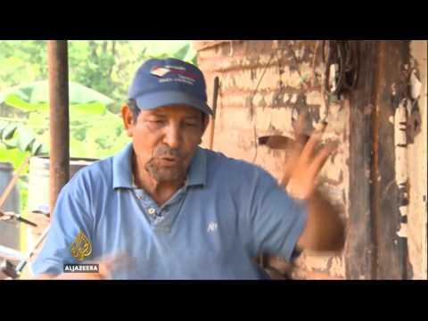 Venezuela's farmers hit hard by harsh drought.