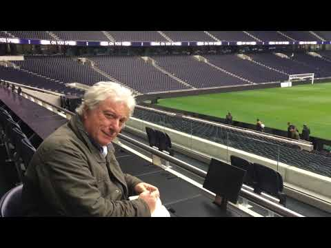 Media facilities at Tottenham's new stadium