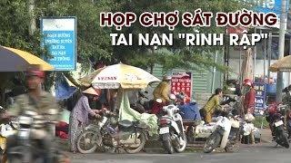 """Tai nạn """"rình rập"""" cạnh chợ trên đường Hồ Chí Minh tỉnh Kon Tum"""