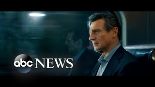 Liam Neeson opens up about 'The Commuter' live on 'GMA'
