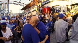 Kansas City Royals Victory Kiss