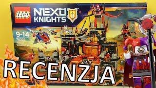 LEGO Nexo Knights Wulkaniczna Kryjówka Jestro 70323 / RECENZJA