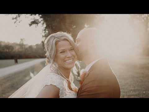 Bride writes vows for her new children 😭Sara & Tim's Wedding Video at The Rustic Creek Verdigris