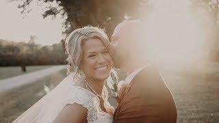 Bride writes vows for her new children 😭Sara & Tim's Wedding Video at The Rustic Creek Verdigris