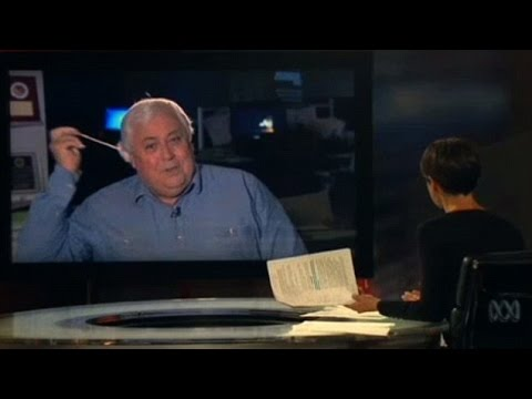 Angry Clive Palmer Walks Out Of Lateline Interview