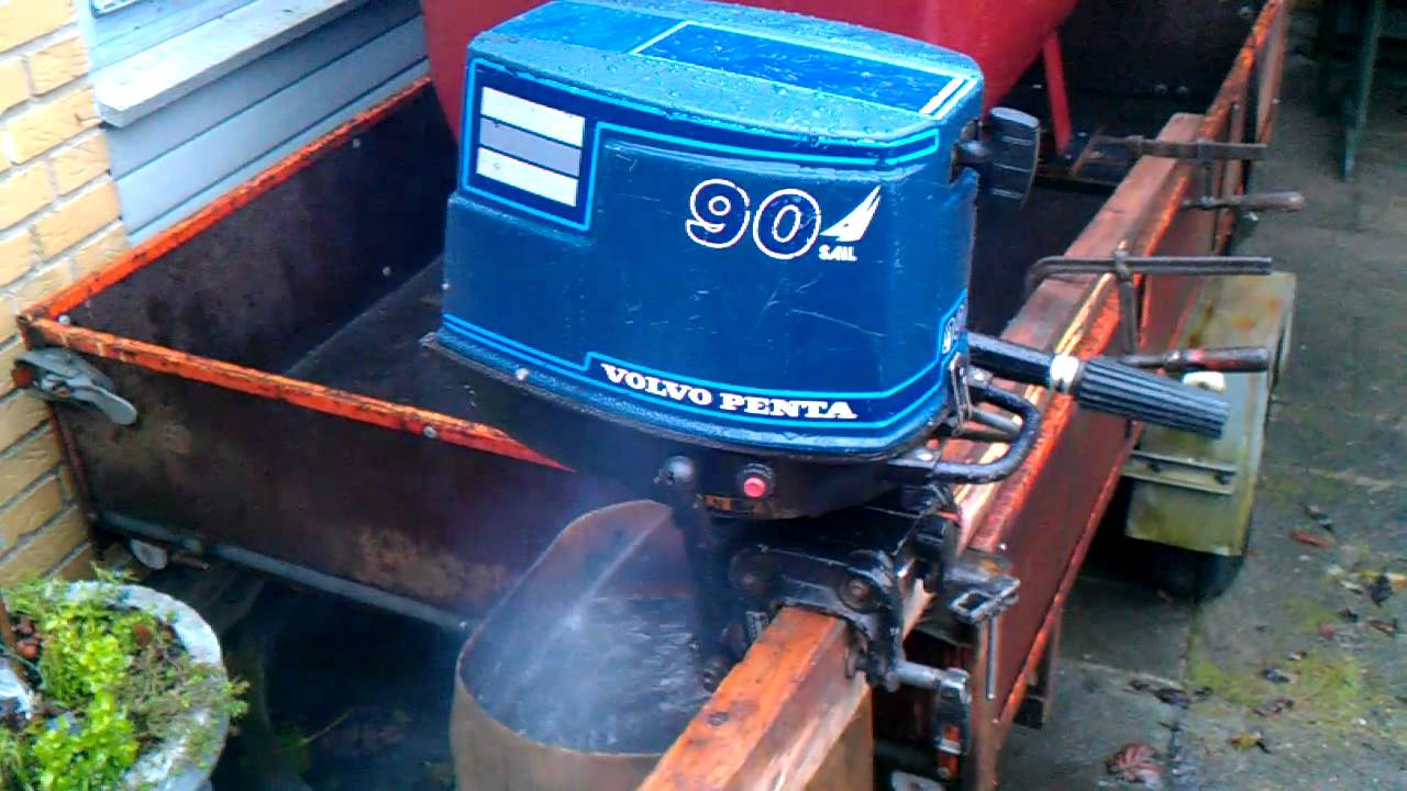 volvo penta archimedes 6 hp outboard youtube rh youtube com