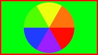 The Colour Wheel: Blue, Red, Yellow, Green, Purple and Orange: Primary and Secondary Colours
