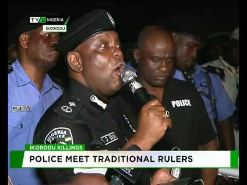 Police name those behind Ikorodu Badoo Killings