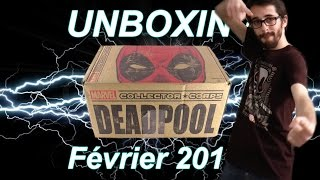 FR | Marvel Collector Corps Février 2016 - Deadpool - Unboxing!
