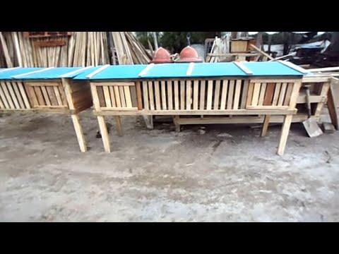 Jaulas ayenla 001 contruccion de jaulas para cuyes conejos pollos youtube - Casas para gallinas ...