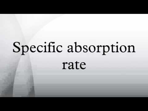 Specific absorption rate