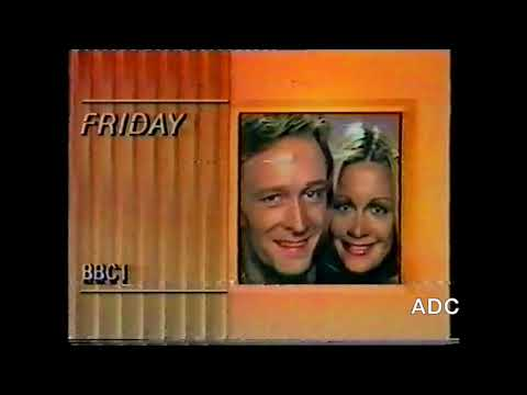 BBC1 Day Time trailer & link 30th October 1986