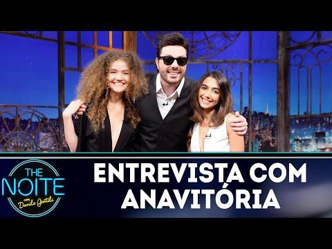 Entrevista com Anavitória | The Noite (01/08/18)