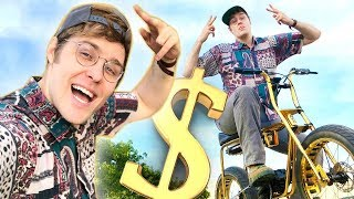 Download My $25,000 Gold Bike Tour! Mp3 and Videos