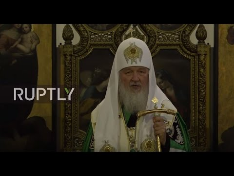 LIVE: Patriarch Kirill of Moscow and All Russia holds prayer in London