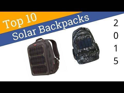 10 Best Solar Backpacks 2015
