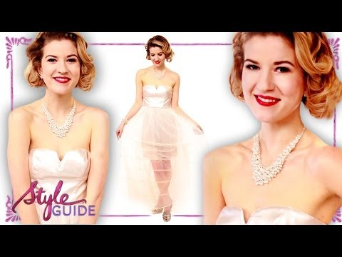 Vintage Prom Trends for 2014 with Meghan Rosette -- Clevver Style Guide