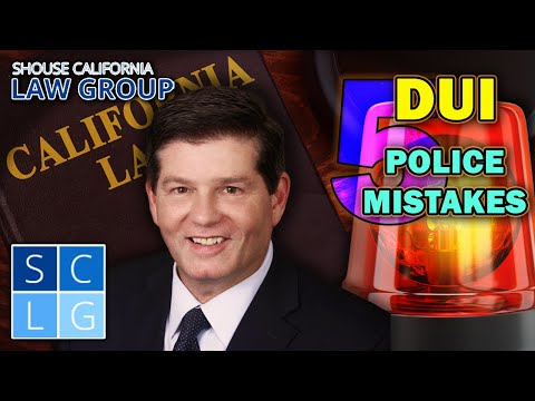 5 Police Mistakes That Can Get Your DUI...