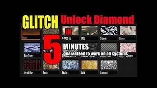 Diamond for FREE Easy black ops 2 glitch
