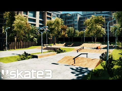 HOW TO BUILD A REALISTIC SKATEPARK IN 40 MIN (NO DLC)