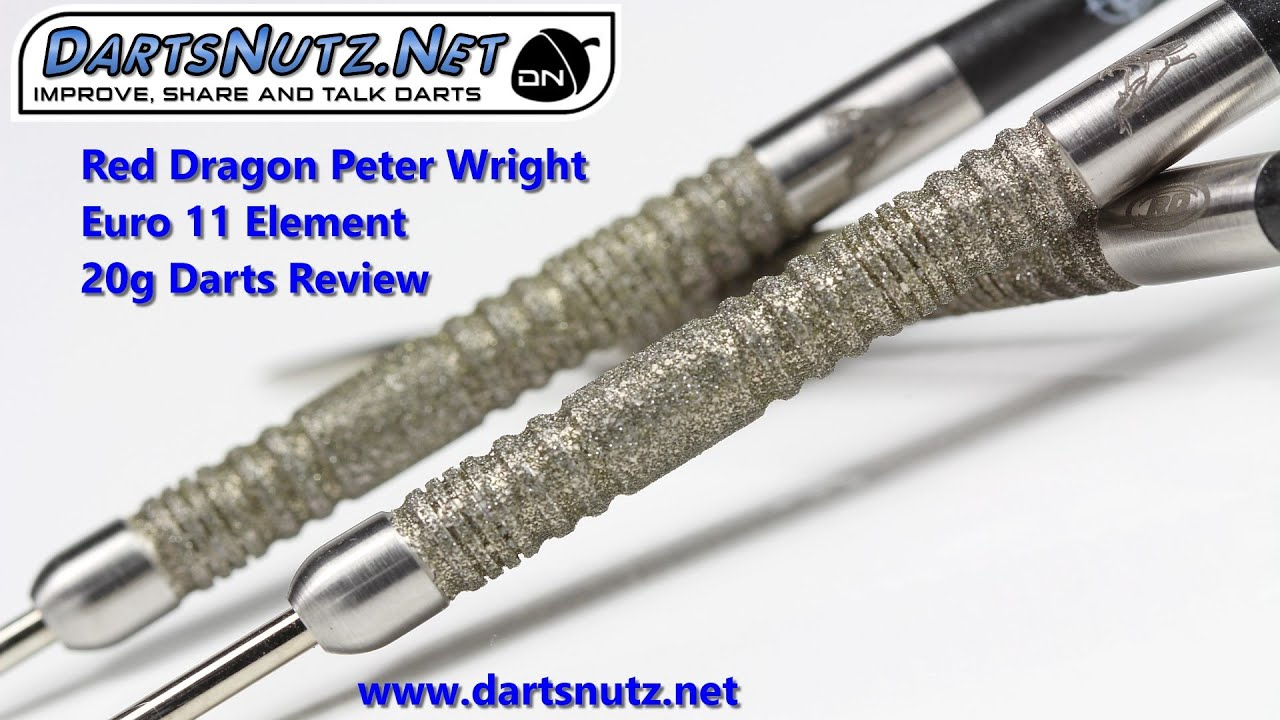 Peter Snakebite Wright Euro 11 20g Steel Dart Dartpfeile Red Dragon Dart