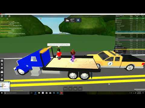 Roblox|Playing Ultimate Driving: Westover Islands|WE ARE A HIGHWAY WORKER