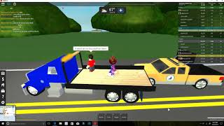 Roblox| Playing Ultimate Driving: Westover Islands| WE ARE A HIGHWAY WORKER