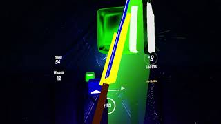 """MLG Tails plays Beat Saber """"Reach for the Stars, Sonic Colours Ultimate version"""""""