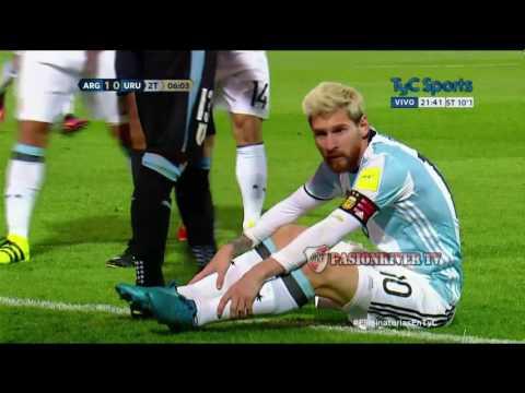 Argentina vs Uruguay (1-0) Eliminatorias Russia 2018 - Fecha 7 - Resumen FULL HD