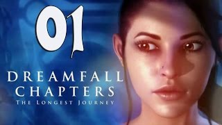 Dreamfall Chapters Gameplay  Part 1 - Walkthrough Playthrough Let's Play - No Commentary