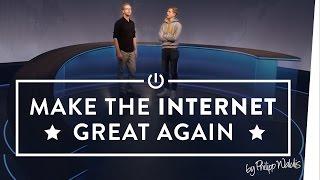 Klassenfahrt zum BR Teil 2: Jetzt erst recht [Make The Internet Great Again By Philipp Walulis]