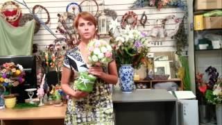 Курсы флористики Цветок сакуры. Отзывы. Юля Голубицкая(, 2014-07-16T10:03:28.000Z)