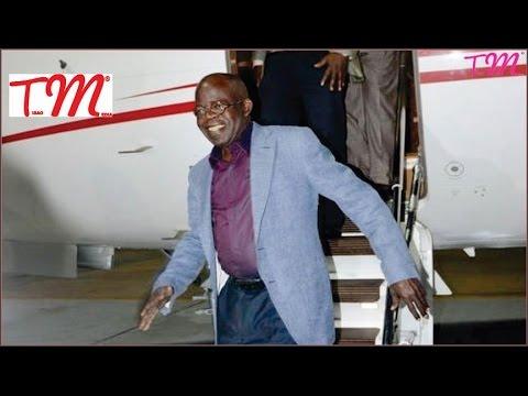 BOLA AHMED TINUBU NEW $42 MILLION DOLLARS PRIVATE JET