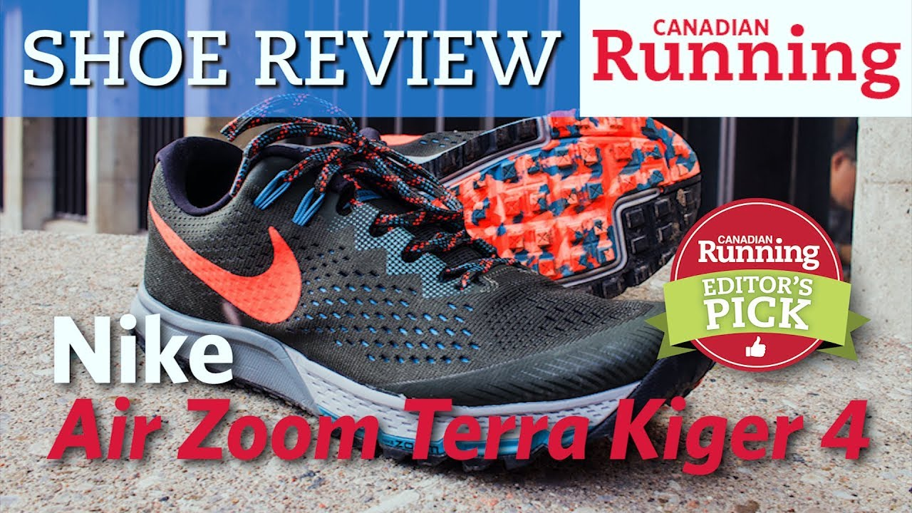 5091d98e81 Shoe Review: Nike Air Zoom Terra Kiger 4 - YouTube