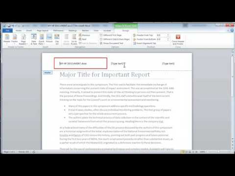 """FrameMaker and Word: Page Headers and Footers """"anywhere"""" that update automatically"""