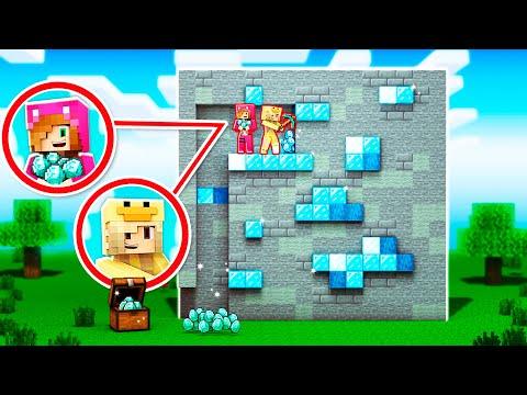 Minecraft pero Todos los BLOQUES SON GIGANTES 😱 MINECRAFT con LYNA