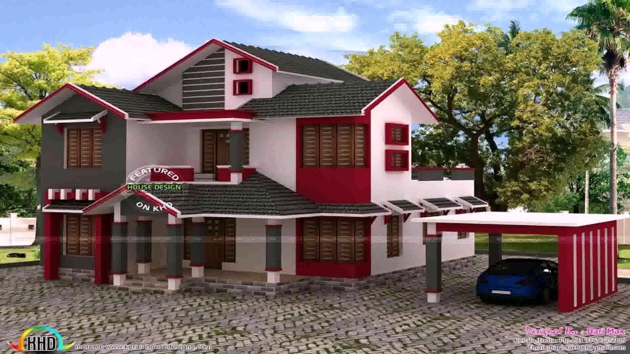 Small House Compound Wall Design Youtube