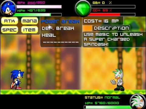 Final Fantasy Sonic (Магия: Фантазия Соника) - прохождение игры