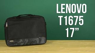 Розпакування Lenovo T1675 17'' Black 888012423