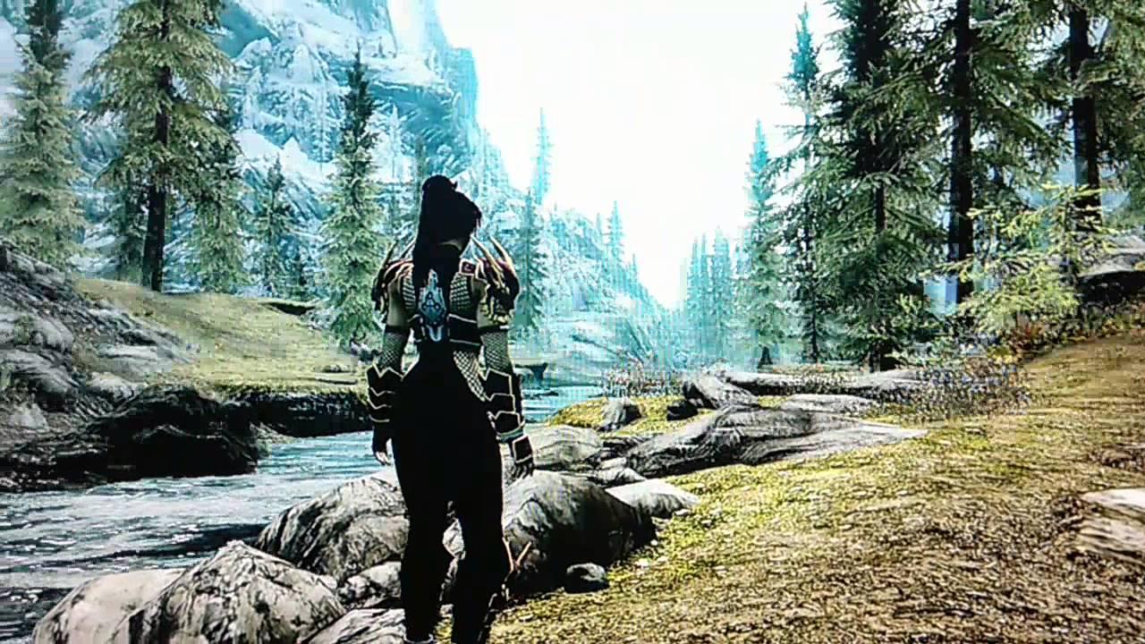 Skyrim Mods Xbox 360 Taki Full Body Armor YouTube