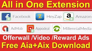 Thunkable All in One Ads Extension / Offer Wall Extension / Video Ads Thunkable Extension