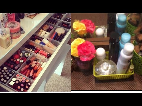 How To Organise small Dressing Table | Dressing Table Organization