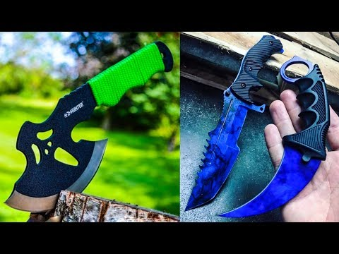 5 AMAZING SURVIVAL WEAPONS AND KNIVES ▶ Legally You Should Use