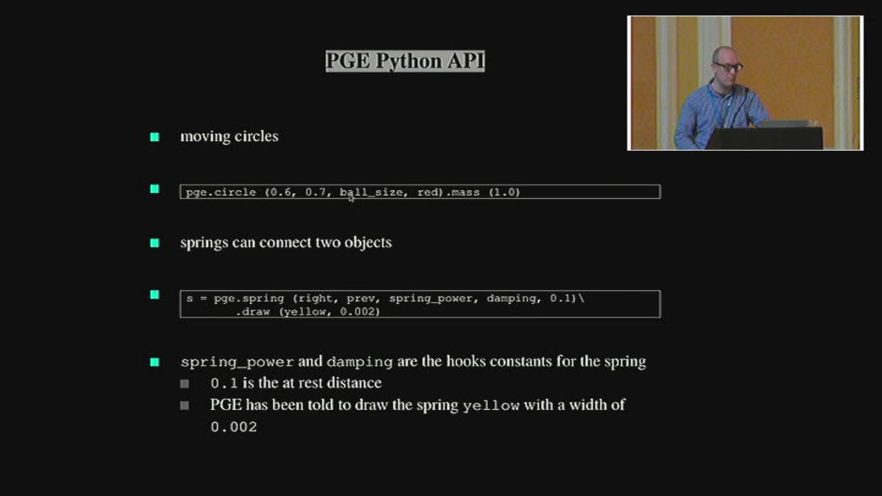 Image from PGE a Physics Game Engine for Pygame
