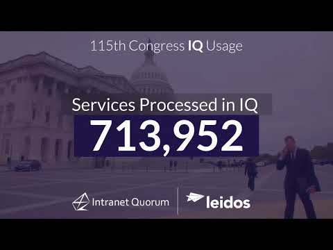 IQ: Helping Congress Serve Constituents