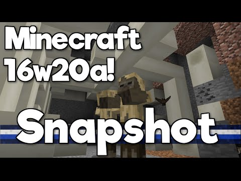 Minecraft 1.10 Snapshot! 16w20a - Polar Bears, Husks, Strays and NEW BLOCKS!