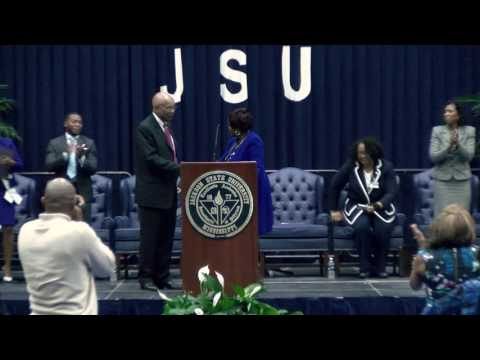 JSU Welcomes Interim president Rod Paige - YouTube
