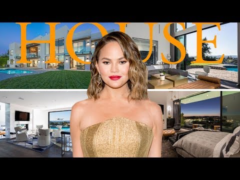 Chrissy Teigen $14.1M House in Beverly Hills 2018 - Chrissy Teigen's Home Tour Inside Out 2018